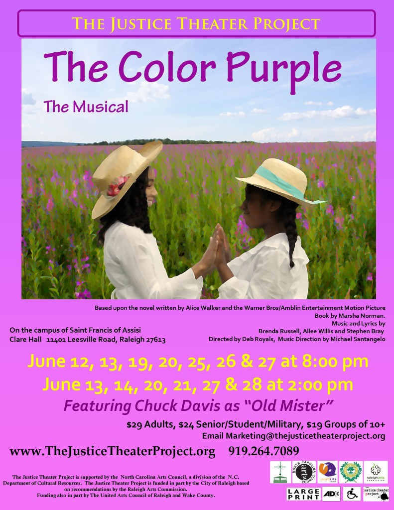 Color Purple small poster