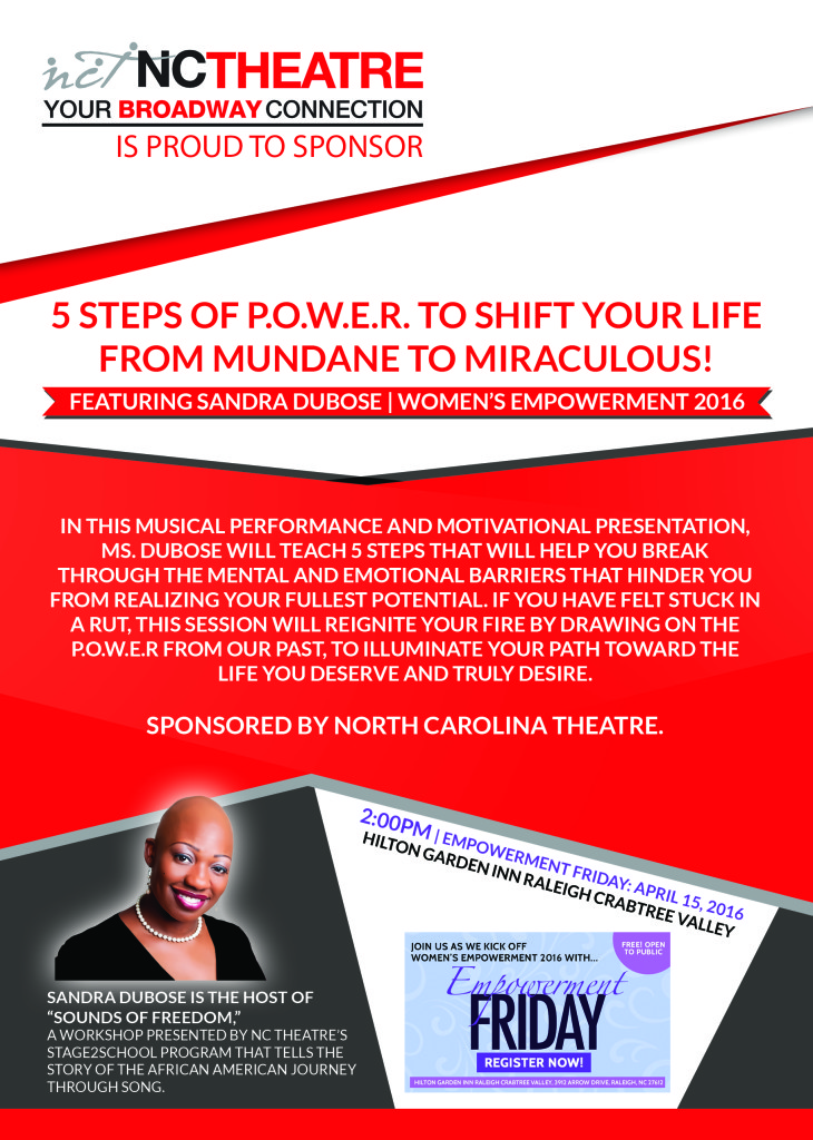 Empowerment Friday Flyer